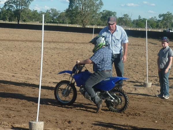 Junior Motorbike Barrel Race