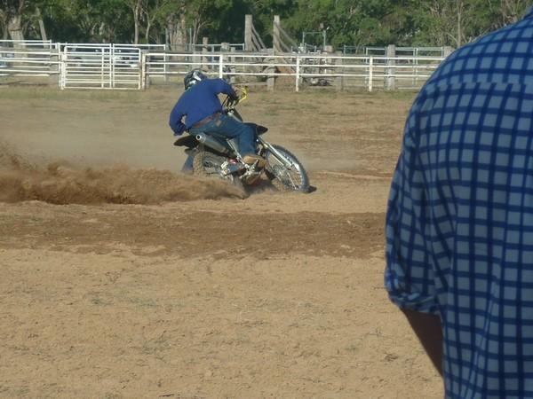 Senior Motorbike Barrel Race