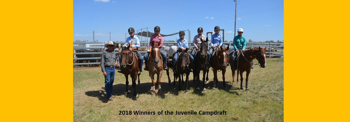 Juvenile Campdraft Winners 2018