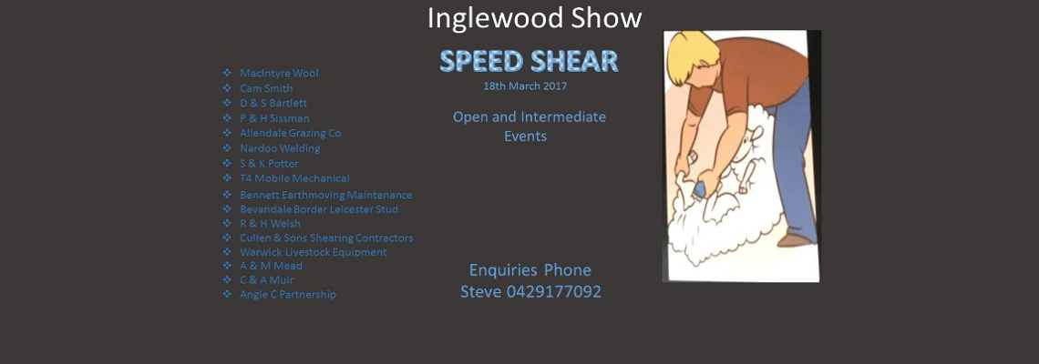 Speed Shear Banner